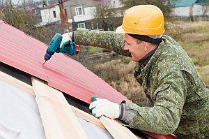 Технология укладки металлочерепицы на крышу